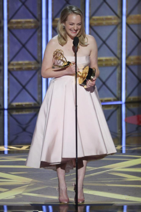 HANDMAID'S TALE's Elisabeth Moss Wins Emmy for Outstanding Actress in a Drama Series