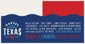 James Taylor, Paul Simon & More Set for 'Harvey Can't Mess with Texas: A Benefit Concert for Hurricane Harvey Relief'
