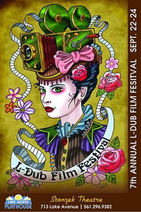 Lake Worth Playhouse's L-Dub Film Festival Holding Poster Design Contest