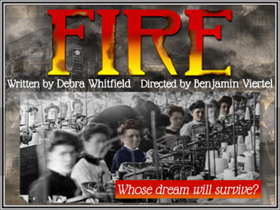 Debra Whitfield's FIRE, About Triangle Waist Company Disaster, to Premiere Off-Broadway