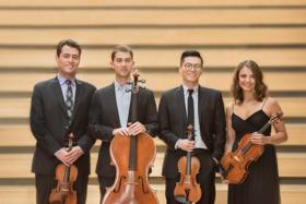 Dover Quartet to Open Texas Performing Arts' 2017-18 Season