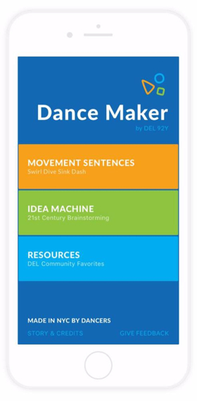 92Y Unveils Free 'Dance Maker' Choreography App