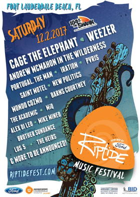 Riptide Music Festival Announces Initial Artists
