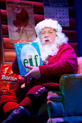 CHEERS Star George Wendt to Return as 'Santa' in ELF THE MUSICAL at Madison Square Garden