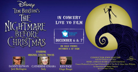 Original Stars Danny Elfman, Catherine O'Hara and Ken Page to Perform Live at THE NIGHTMARE BEFORE CHRISTMAS Screening in Brooklyn