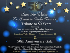 NEA Jazz Master Featured at Greenbrier Valley Theatre's 50th Anniversary Gala