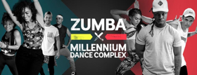 Zumba and Millennium Dance Complex Join Forces