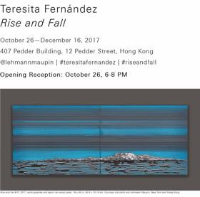 Teresita Fernandez's RISE AND FALL Immersive Installation Coming to Hong Kong