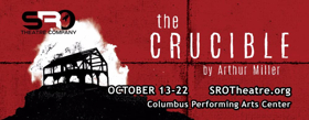 SRO Theatre Company Presents THE CRUCIBLE with Audio Description Using Cell Phones