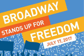Chris Jackson, Gavin Creel, Lindsay Mendez, Celia Keenan-Bolger, Andrea Burns and More to 'STAND UP FOR FREEDOM' This Year