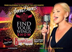 Jazz Vocalist Anna Danes Makes NYC Club Debut Next Month