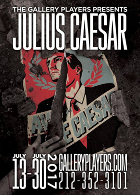 The Gallery Players' JULIUS CAESAR to Bring Political Intrigue to Park Slope; Cast Announced!