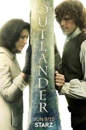Season Three of Hit Original Starz Series OUTLANDER Premieres 9/10