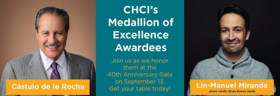 Lin-Manuel Miranda Among CHCI's 2017 Medallion of Excellence Recipients