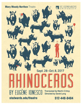 BWW Review: RHINOCEROS St. Edwards Stages Smartly Stylish Satire