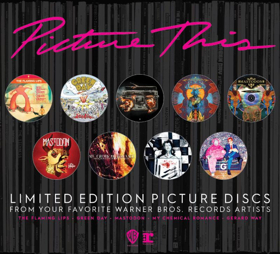 Introducing Warner Bros. Records' Picture This Inaugural Picture Disc Series