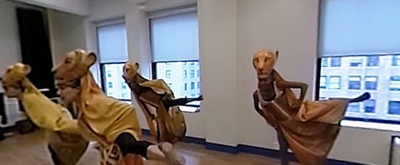 VIDEO: Get a 360-Degree View Inside Rehearsals for Disney's THE LION KING