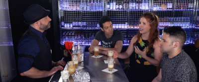 BWW TV: Tomorrow on Broadway Bartender... The Cast of PUFFS!