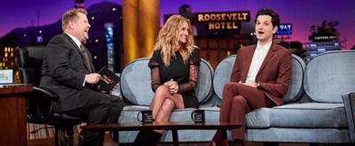 VIDEO: Julia Roberts & Ben Schwartz Visit LATE LATE SHOW