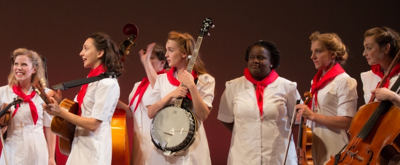 BWW REVIEW: The Goree All-Girl String Band Forges A Path To Freedom (And Audience's Hearts)