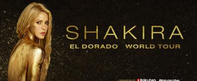 Shakira Announces 'El Dorado World Tour' Presented by Rakuten