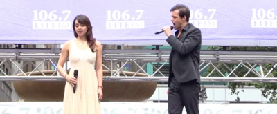 BWW TV: THE PHANTOM OF THE OPERA Enchants at Broadway in Bryant Park!