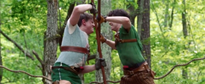 VIDEO: Climb and Zip Through the Trees with Highlights from Serenbe's Immersive ROBIN HOOD