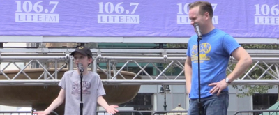 BWW TV: CHARLIE AND THE CHOCOLATE FACTORY Sweetens Up Broadway in Bryant Park!