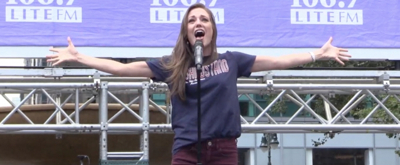 BWW TV: BANDSTAND Brings it Home at Broadway in Bryant Park!