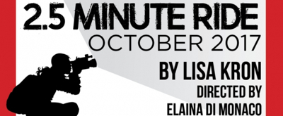 Lisa Kron's 2.5 MINUTE RIDE to Make Philly Area Premiere at Theatre Horizon