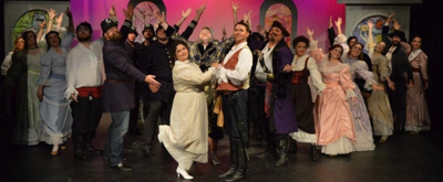 FRIDAY 5 (+1): Chris McLaurin and Mara Smotherman of PIRATES OF PENZANCE