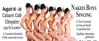 BWW Previews: NAKED BOYS SINGING at Cabaret Café Cléopâtre