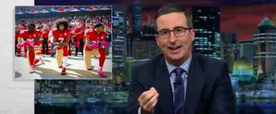 VIDEO: John Oliver Examines 'NFL Kneel' Controversy & More on LAST WEEK TONIGHT