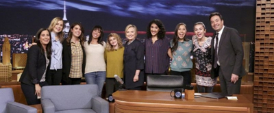 VIDEO: Miley Cyrus & TONIGHT SHOW Female Writers Read Thank You Notes to Hillary Clinton