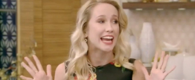 VIDEO: TIME AND THE CONWAYS' Anna Camp on Cell Phone Disruptions: 'You Just Have to Take It All In'