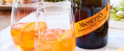 Celebrate Prosecco with MIONETTO and their Orange Spritz