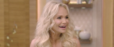 VIDEO: Kristin Chenoweth Recalls New York Theatrical Debut on LIVE