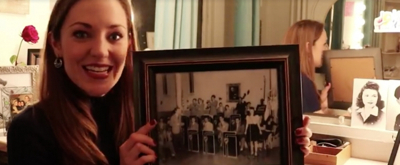 VIDEO: BANDSTAND's Laura Osnes Reminisces with Her Grandmother, a Real-Life 1940s Swing Band Singer