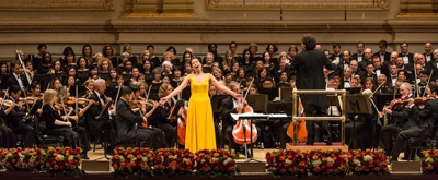 Nadine Sierra to Headline Richard Tucker Music Foundation's 2017 Gala at Carnegie Hall; Lineup Announced!