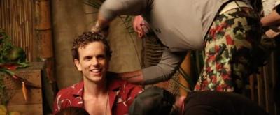 VIDEO: ESCAPE TO MARGARITAVILLE's Paul Alexander Nolan Poses for Vanity Fair!