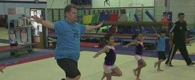 VIDEO: James Corden: Future Gymnastics Champion?