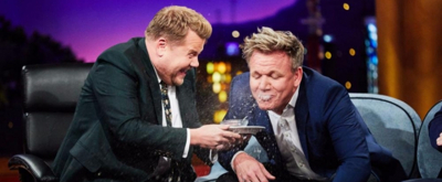 VIDEO: Gordon Ramsay Eats a Disgusting Serving of Revenge on LATE LATE SHOW