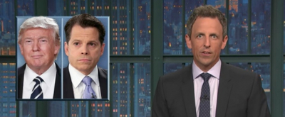 VIDEO: Scaramucci Dines at Trump Tower & More on LATE NIGHT Monologue