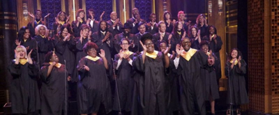 VIDEO: Tonight Show Donates $1M to Hurricane Relief, Houston Choir Sings 'Lean on Me'