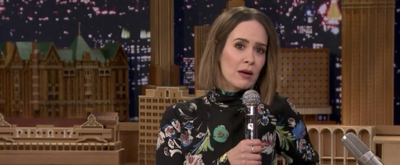 VIDEO: Sarah Paulson Channels Drew Barrymore & More on TONIGHT SHOW's 'Wheel of Impressions'