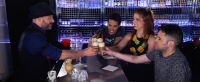 BWW TV Exclusive: BROADWAY BARTENDER Creates a Magical Concoction with the Cast of Puffs!