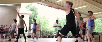 VIDEO: First Look! NEWSIES Makes Headlines at The Muny!