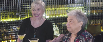VIDEO: CURVY WIDOW's Nancy Opel and Bobby Goldman Sip Cocktails on BROADWAY BARTENDER