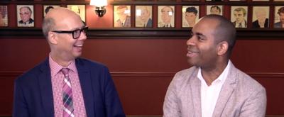 Backstage with Richard Ridge: Meet HAMILTON's New Aaron Burr (Sir), Daniel Breaker!