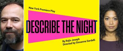 Danny Burstein, Rebecca Naomi Jones and More to Star in Rajiv Joseph's DESCRIBE THE NIGHT at the Atlantic